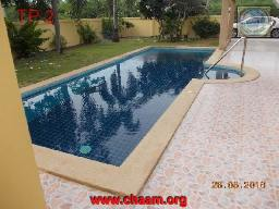 swimming pool  villa in chaam